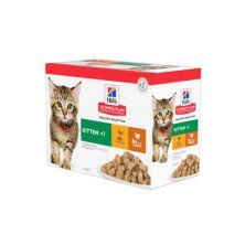 Hill´s Fel. kapsa Kitten Chicken&Turkey(12x85g)