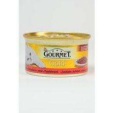 Gourmet Gold konz. kočka hov.a kuře v rajč.om.85g