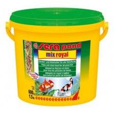 Sera kompletní krmivo pro ryby v jezírku Pond Mix Royal 3000ml