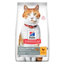Hill´s Fel. Dry Adult Young Sterilised Cat Chicken15kg