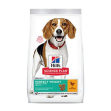 Hill´s Can.Dry SP Perf.Weight Adult Medium Chicken12kg