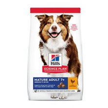 Hill´s Can.Dry SP Mature Adult 7+ Medium Chicken 14kg
