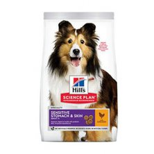 Hill´s Can.Dry SP Sensitive Adult Medium Chicken 2,5kg