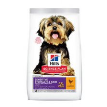 Hill´s Can.Dry SP Sensitive Adult Small Chicken 1,5kg