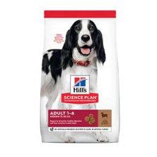 Hill´s Can.Dry SP Adult Medium Lamb&Rice 2,5kg