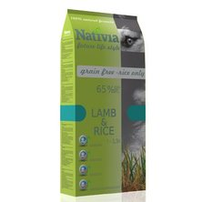 Nativia Dog Adult Lamb&Rice 15kg