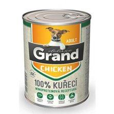 GRAND konz. pes deluxe 100% drůbeží 400g