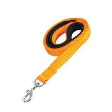 Vodítko pes SOFT NYLON oranžové 20mm/1m Zolux