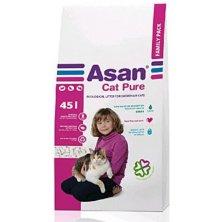 Asan Cat Pure eko-stelivo pro kočky a fretky 45l