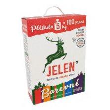 Prací prostředek Jelen mýdlový prášek Color 5kg BOX
