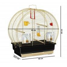 Ferplast klec pro ptáky LUNA 2 černá
