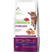 TRAINER Natural Cat STERILISED losos 10kg