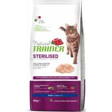 TRAINER Natural Cat STERILISED drubezi maso 10kg