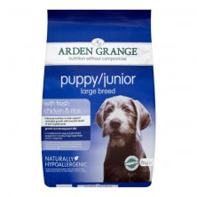 Arden Grange Puppy/Junior Large Breed with fresh Chicken & Rice 12 kg