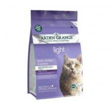 Arden Grange Adult Cat Light with Chicken & Potato grain free 8 kg