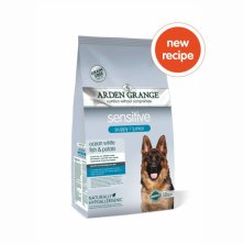 Arden Grange Puppy/Junior Sensitive Ocean White Fish & Potato 12 kg