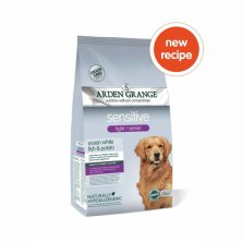 Arden Grange Light / Senior Sensitive with White Fish & Potato 12 kg