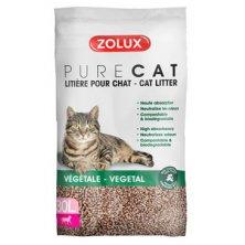 Podestýlka PURECAT natural absorb. rostlinná 30l Zolux