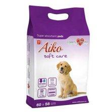 Plenky pro psy Aiko Soft Care 60x58cm 7ks