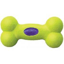 Hračka tenis Air dog Kost pískací Kong medium