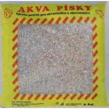 Písek akvarijní Akva č.5 - béžový jemný 3 kg