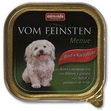 Animonda VomFeinsten Menue dog van. - hovězí, brambor 150 g