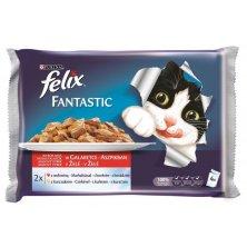 Felix cat kaps.-Fant.Multipack masový výběr v želé 4 x 100 g