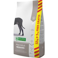 Nature´s Protection Dog Dry Adult Maxi 12 kg + 3 kg