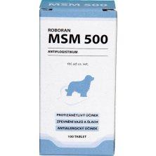 Roboran MSM 500 pro psy 100 tbl