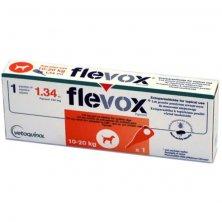 Flevox M 134mg spot-on dog a.u.v. sol 1 x 1,34 ml ( 10-20 kg )