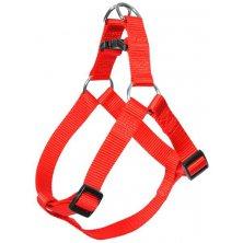 Postroj nylon Červená DUVO+ 2,5 x 80-100 cm
