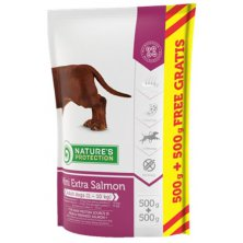 Nature´s Protection Dog Dry Adult Mini Extra Salmon 500 g + 500 g