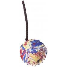 Hračka gumový míček na šňůrce B&F