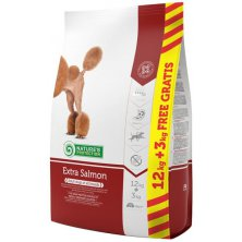 Nature´s Protection Dog Dry Extra Salmon 12+3 kg