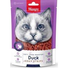 Wanpy Cat Soft Duck Jerky Strips for Cat 80 g