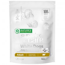 Nature´s Protection Dog Dry Superior Care White Dog GF adult SB 400 g