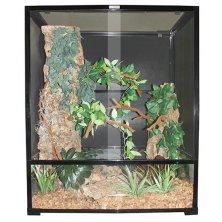Terárium kov/sklo pro chameleóna Komodo 76x46x91cm