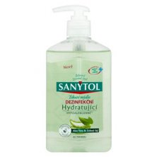 AKCE - SANYTOL mýdlo desinfekční Hydratující 250ml