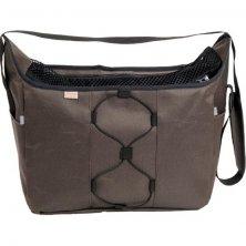 Transp. taška nylon Diana hnědá 40 cm - do 7,5 kg