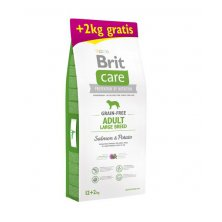 Brit Care Grain-free Adult LB Salmon & Potato 12+2 kg
