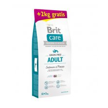Brit Care Grain-free Adult Salmon & Potato 12+2kg