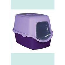 WC kočka kryté domek VICO 40x40x56 TR fialová