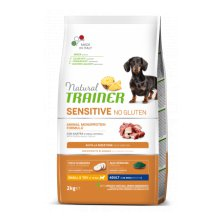 TRAINER Natural SENSITIVE No gluten Adult Mini kachna 2kg