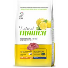 TRAINER Natural Small&Toy Adult Hovězí a rýže 800g
