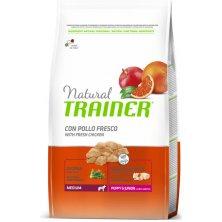 TRAINER Natural Med.Puppy&Junior čerstvé kuře 3kg