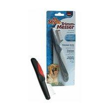 Nůž trimovací In Style velké zuby - levý Trixie