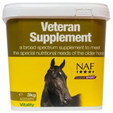Veteran supplement, krmný doplněk s MSM a probiotiky speciálně pro starší koně