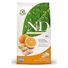 N&D Grain Free DOG Adult Fish & Orange 2,5kg