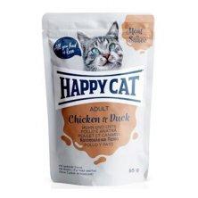 Happy Cat kapsa Meat in Sauce Adult Kuře a kachna 85g