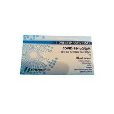 Test SafeCare Biotech Covid-19 Detekce protilátek 1ks